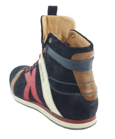 Kamo-Gutsu Herren Sneaker Tifo 142 Marino Oil Papavero