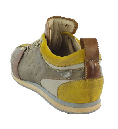Kamo-Gutsu Herren Sneaker Tifo 017 Orca Topo Bianco