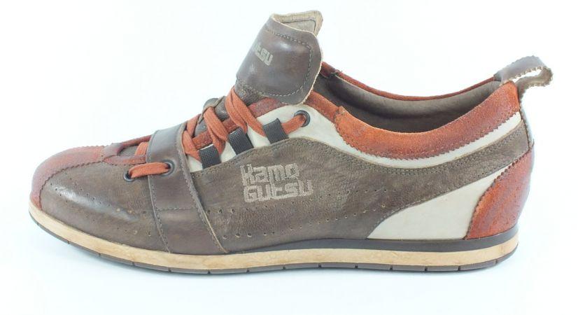 Kamo-Gutsu Herren Sneaker Tifo 017 Mattone Nut TDM
