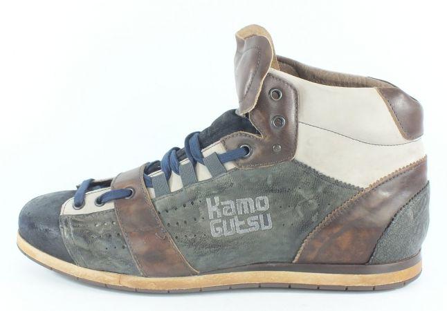 Kamo-Gutsu Herren Sneaker Tifo 105 Navy Gris TDM