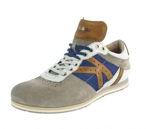 Kamo-Gutsu Herren Sneaker Tifo 040 Crack Blue