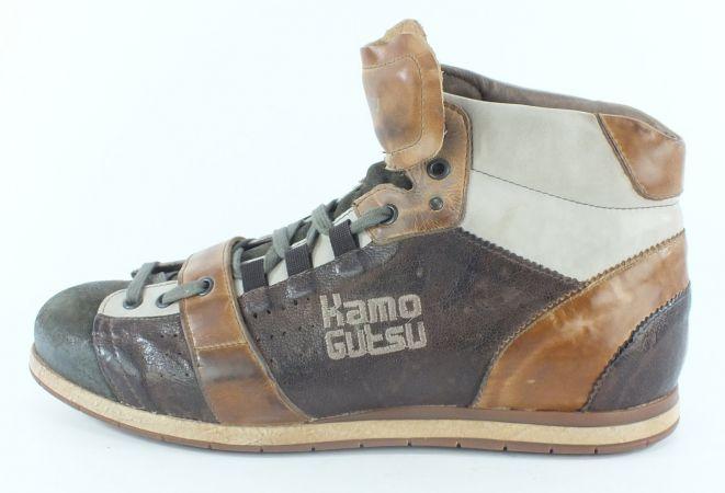 Kamo-Gutsu Herren Sneaker Tifo 105 Kaki TDM Cuoio