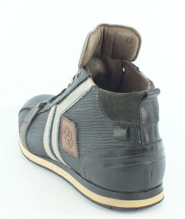 Kamo-Gutsu Herren Sneaker Tifo 130 Nero Combi