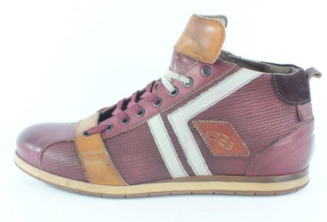 Kamo-Gutsu Herren Sneaker Tifo 130 Bordo Combi