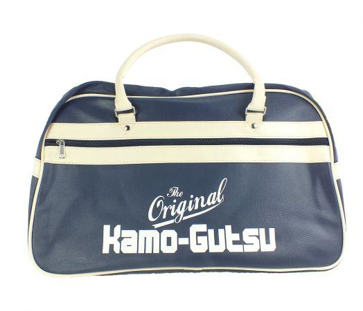 Kamo-Gutsu Tasche Sporttasche blau