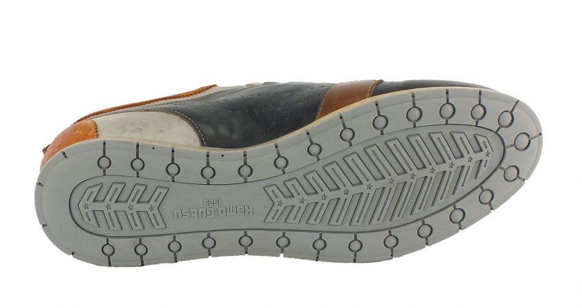 Kamo-Gutsu Herren Sneaker Tifo 017 Arancio Antra Bianco