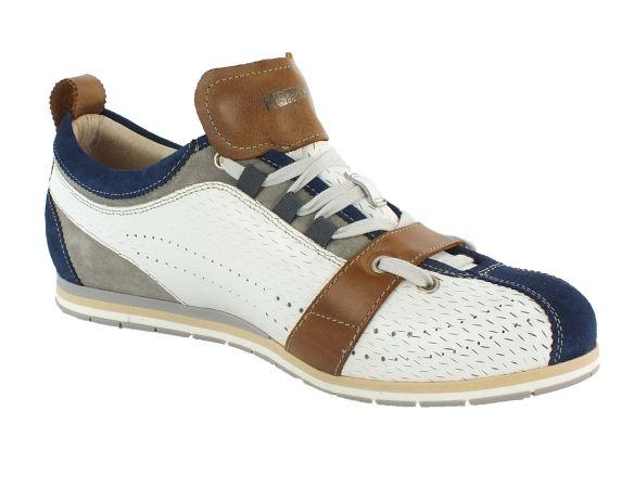 Kamo-Gutsu Herren Sneaker Tifo 017 Blu White