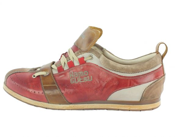 Kamo-Gutsu Herren Sneaker Tifo 017 Corda Rosso Bianco
