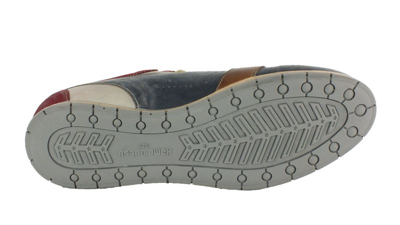 Kamo-Gutsu Herren Sneaker Tifo 017 Sangue Navy Bianco