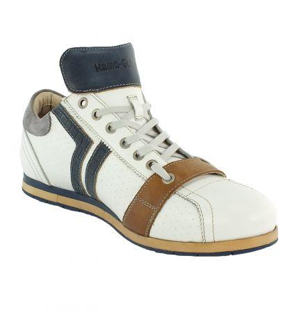 Kamo-Gutsu Herren Sneaker Tifo 030 Bianco Notte