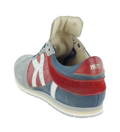 Kamo-Gutsu Herren Sneaker Tifo 040 Ash Cherry Blue